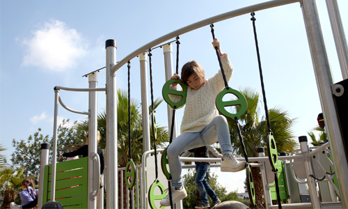 stainless steel outdoor recreational equipment